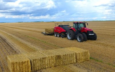 Making the Case for the New Large Square Bale Accumulator