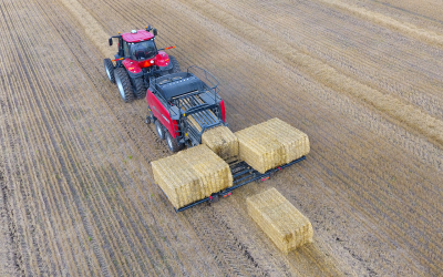 Reduce Trips To The Field With New Case IH Bale Accumulators