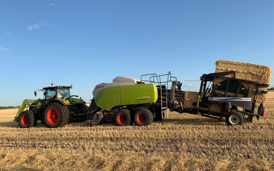 The PhiBer Stacker Changed the Way Skyline Harvest Handled Bales